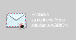 Prihláška za riadneho člena združenia AGRION